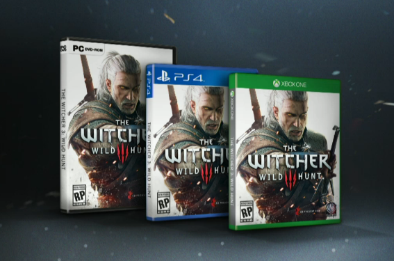 Witcher 3 Box Art