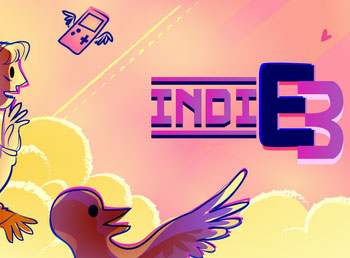 IndiE3 banner by Tess Young