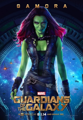 Guardians of the Galaxy Gamora Poster