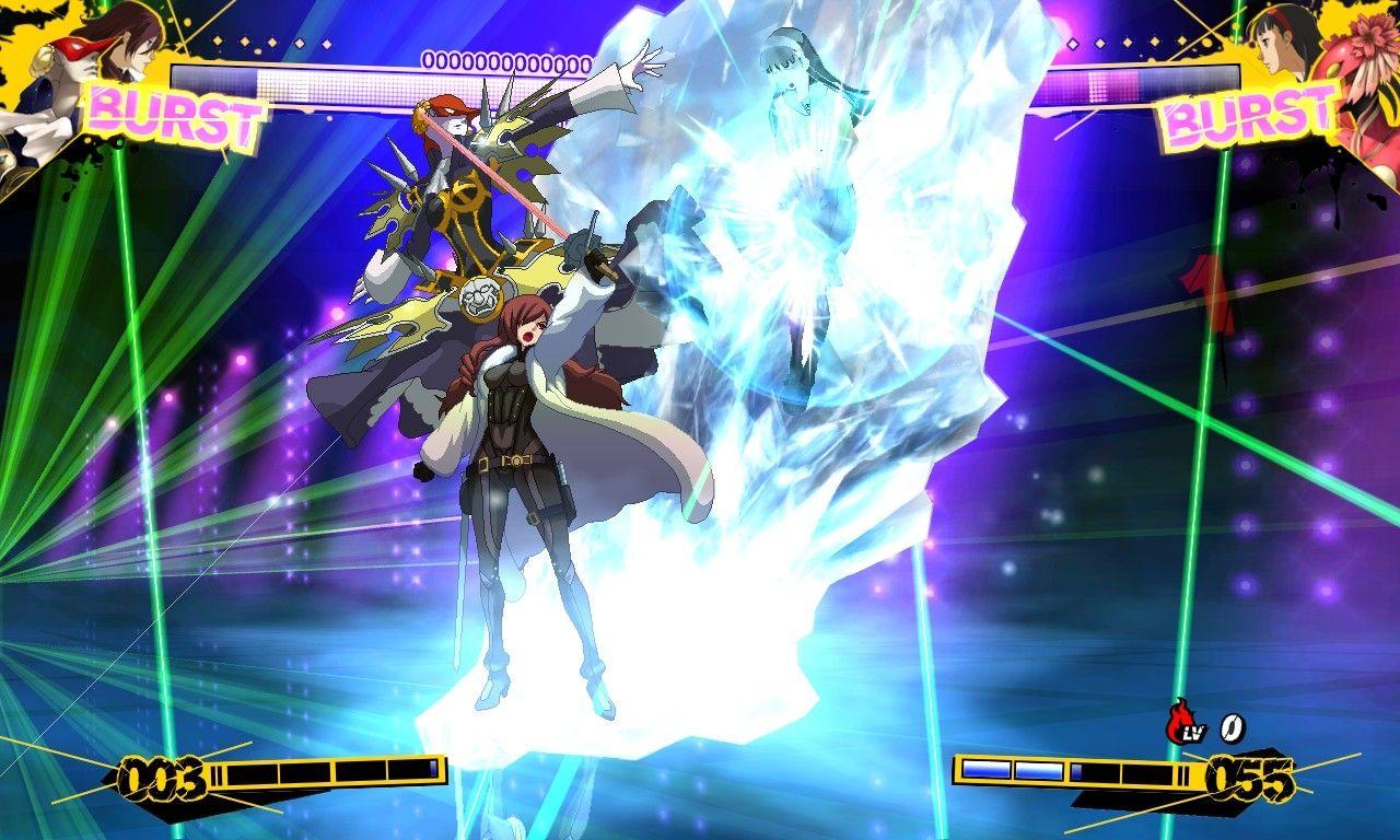 Persona 4 Fightan' Game?! :V