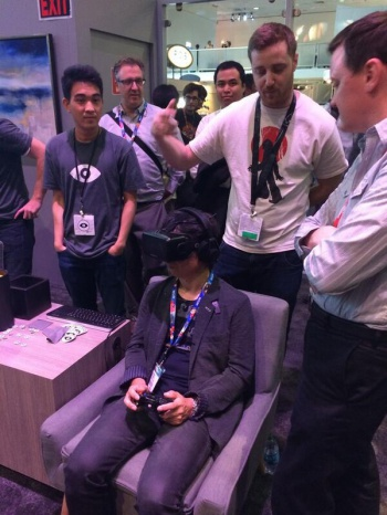 miyamoto using oculus rift