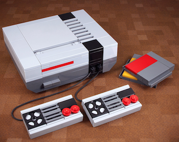 Lego Models Recreate Classic Computers/Consoles with