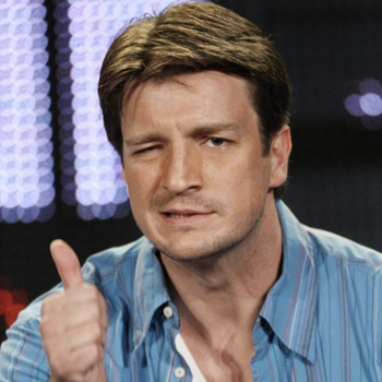 Nathan Fillion Thumbs Up