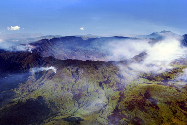 Mount Tambora, Indonesia