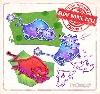 slow down bull