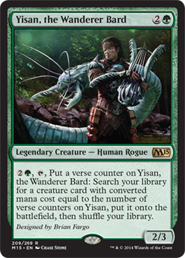 yisan the wanderer bard