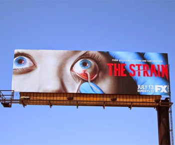 The Strain Billboard