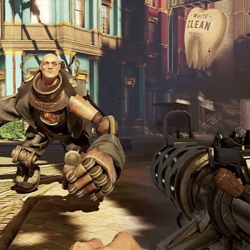 Bioshock Infinite Fight