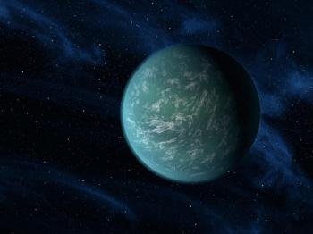 Artist's rendition of Kepler 22-b