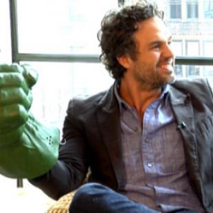 Mark Ruffalo Hulk Hands