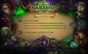 curse of naxxramas pricing