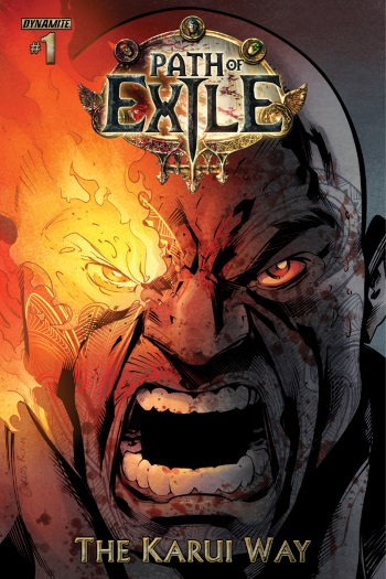 Path of Exile comic cover 350