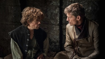 Tyrion and Jamie Lannister