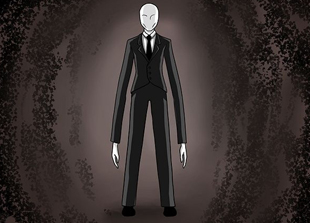 Slender Man Drawing