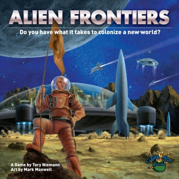Alien Frontiers Box Art