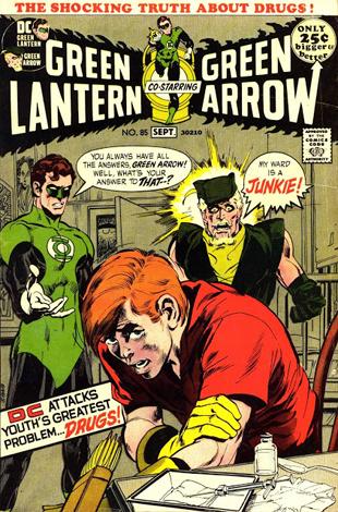 social justice green lantern - green arrow #85small