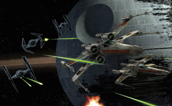Star Wars Space Fight