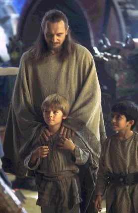 Qui Gon and Anakin