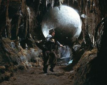 Indiana Jones boulder