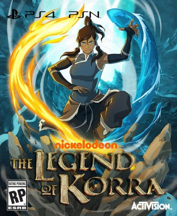 legend of korra game cover art