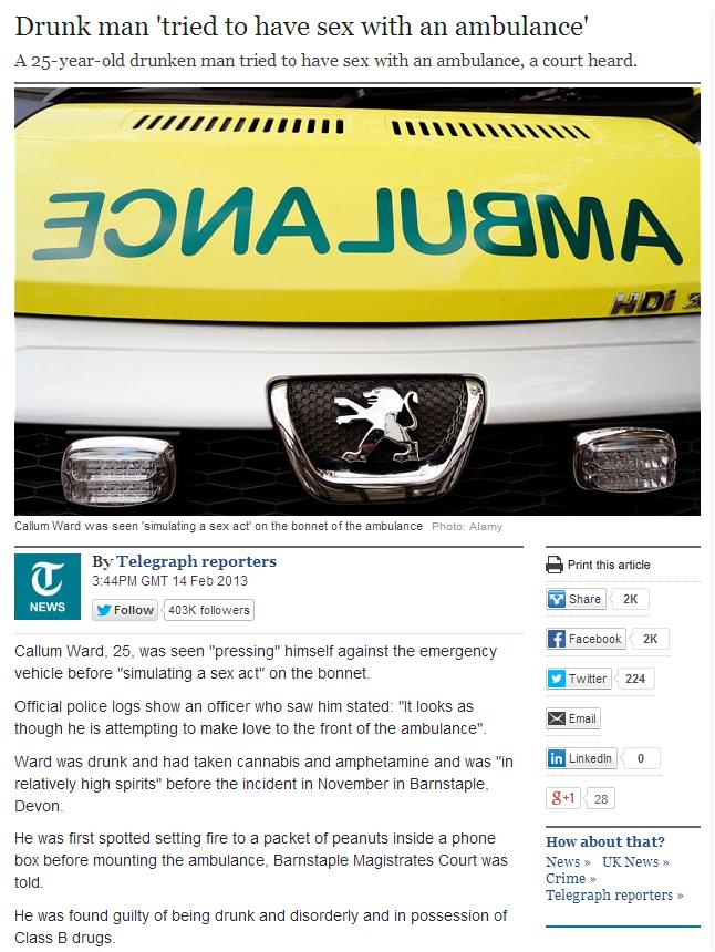 Ambulance Sex