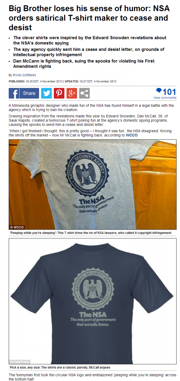 NSA T-Shirts