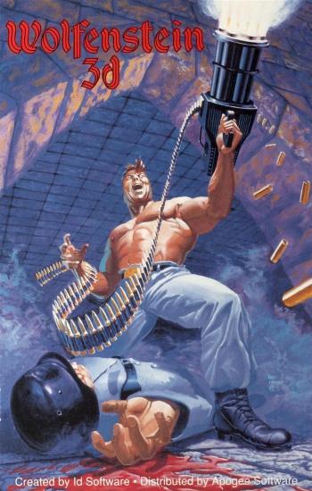 wolfenstein 3d cover art 350