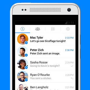Facebook Messenger Android 310x