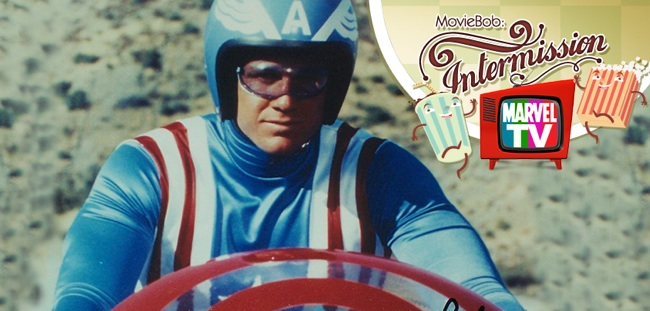 Retro Marvel: Captain America header