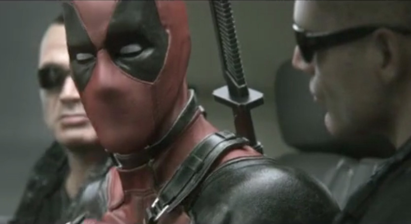 Deadpool leaked footage