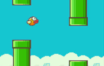 Flappy Bird screen