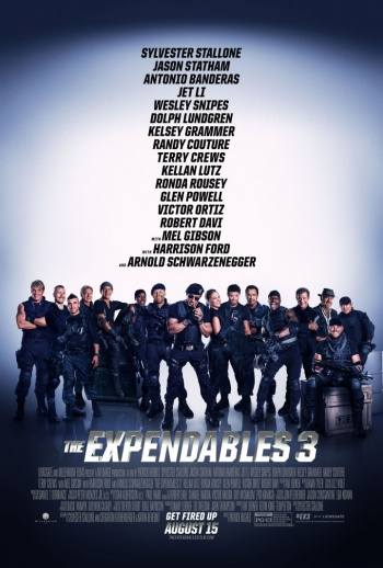 Expendables 3 Poster