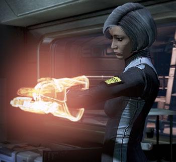 Mass Effect's Dr Chakwas