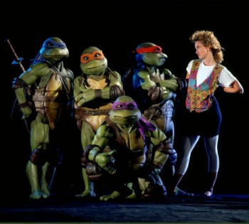 teenage mutant ninja turtles 1990 april