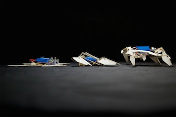 Origami Robot Walking