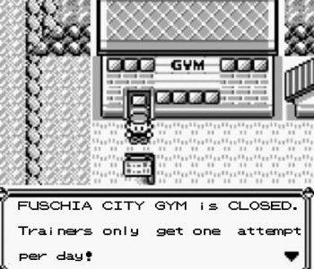 Pokemon Gym 1 Attempt