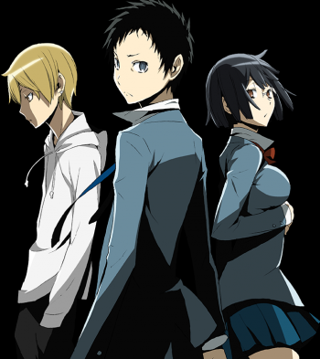 Durarara!! x2 key visual