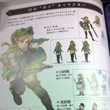 hyrule warriors female link concept art