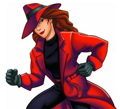 Carmen Sandiego character