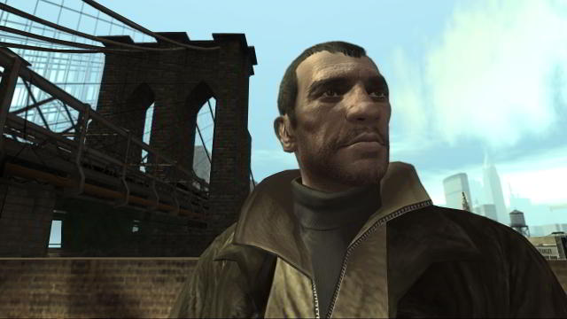 Niko Bellic character in Grand Theft Auto IV