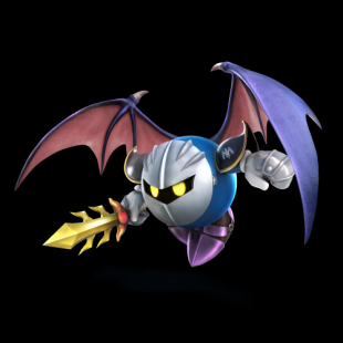 meta knight in super smash bros