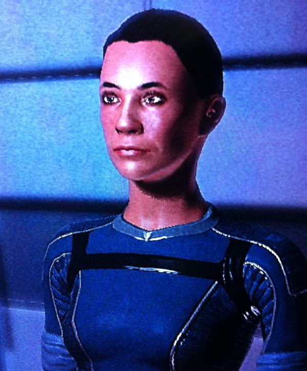Robert Rath's Polynesian FemShep Commander Shepard in Mass Effect