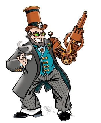 Munchkin Steampunk gentleman