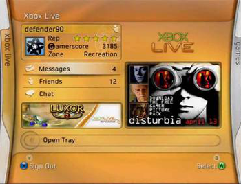 Xbox Live 2004 Banner of the Day