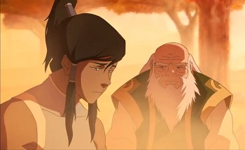 korra and iroh - legend of korra ultimatum