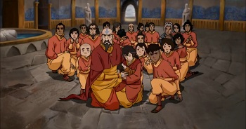 tenzin family air nation captured - legend of korra ultimatum