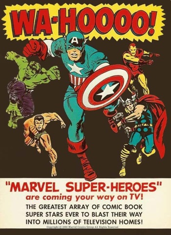 marvel superheroes cartoon