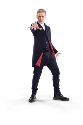 Doctor Who Peter Capaldi costume