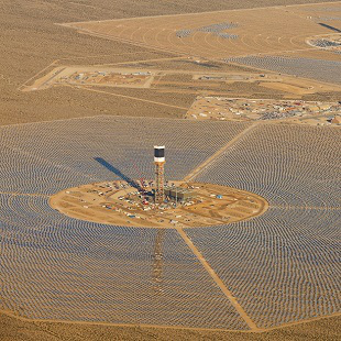 BrightSource Ivanpah Solar Thermal 310x