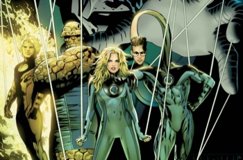 ultimate fantastic four 350